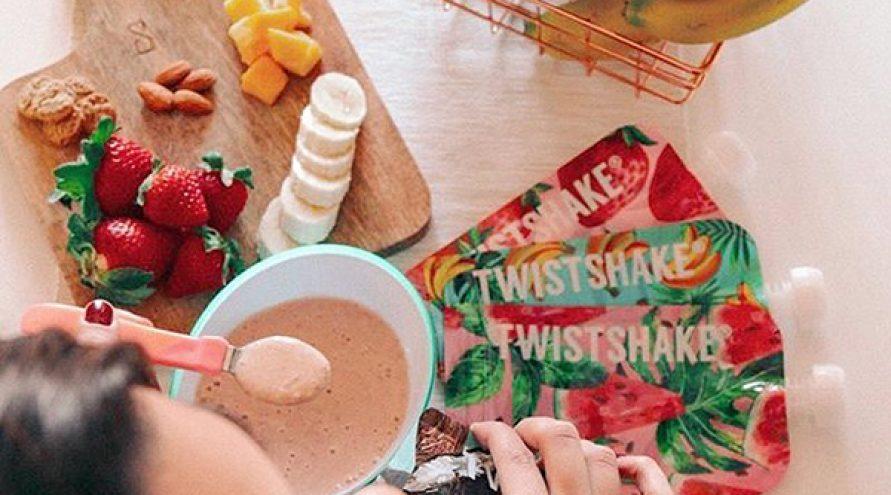 Twistshake® SQUEEZE vrećice Fruit 3x100ml
